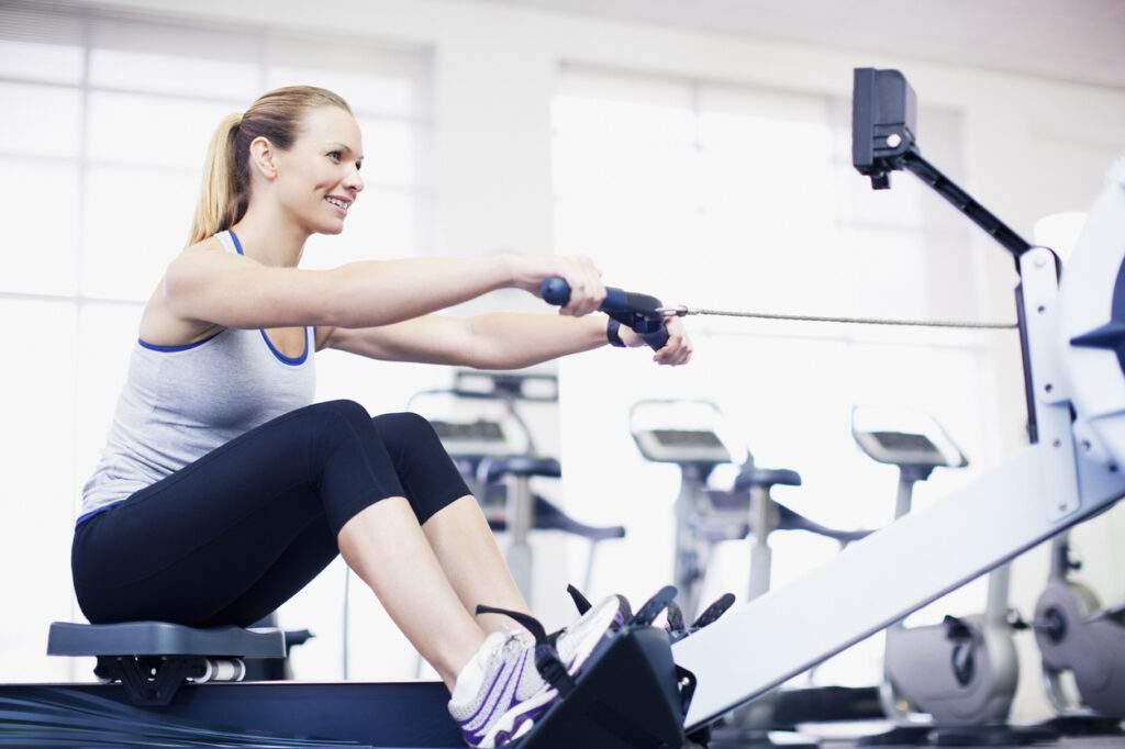 Rowing machine benefits weight loss